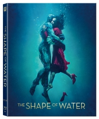 [Blu-ray] The Shape of Water Lenticular(O-ring Case) Steelbook Limited Edition (Weetcollcection Collection No.02)