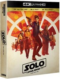 [Blu-ray] Solo: A Star Wars Story 4K UHD(4Disc: 4K UHD + 2D + 3D) Fullslip Steelbook Limited Edition