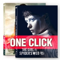 [Blu-ray] The Girl in the Spider's Web One Click Steelbook Limited Edition(Weetcollcection Collection No.09)