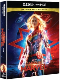 [Blu-ray] Captain Marvel Fullslip(2Disc: 4K UHD+2D) Steelbook Limited Edition