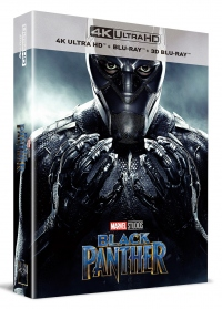 [Blu-ray] Black Panther Fullslip A1(3disc: 4K UHD + 3D + 2D) Steelbook LE(Weetcollcection Exclusive No.3)