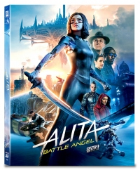 [Blu-ray] Alita: Battle Angel A3 Type Fullslip(3disc: 3D + 2D) Steelbook LE(Weetcollcection Collection No.13)