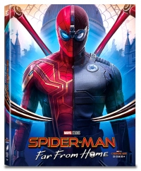 [Blu-ray] Spider-Man: Far From Homel A3 Type Fullslip(3disc: 3D + 2D + Bonus Disc)) Steelbook LE(Weetcollcection Collection No.15)