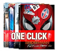 [Blu-ray] Spider-Man: Far From Home One Click Steelbook Limited Edition(Weetcollcection Collection No.15)