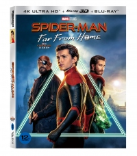 [Blu-ray] Spider-Man: Far From Home slipcase(4disc: 4K UHD + 3D + 2D + Bonus Disc) Limited Edition