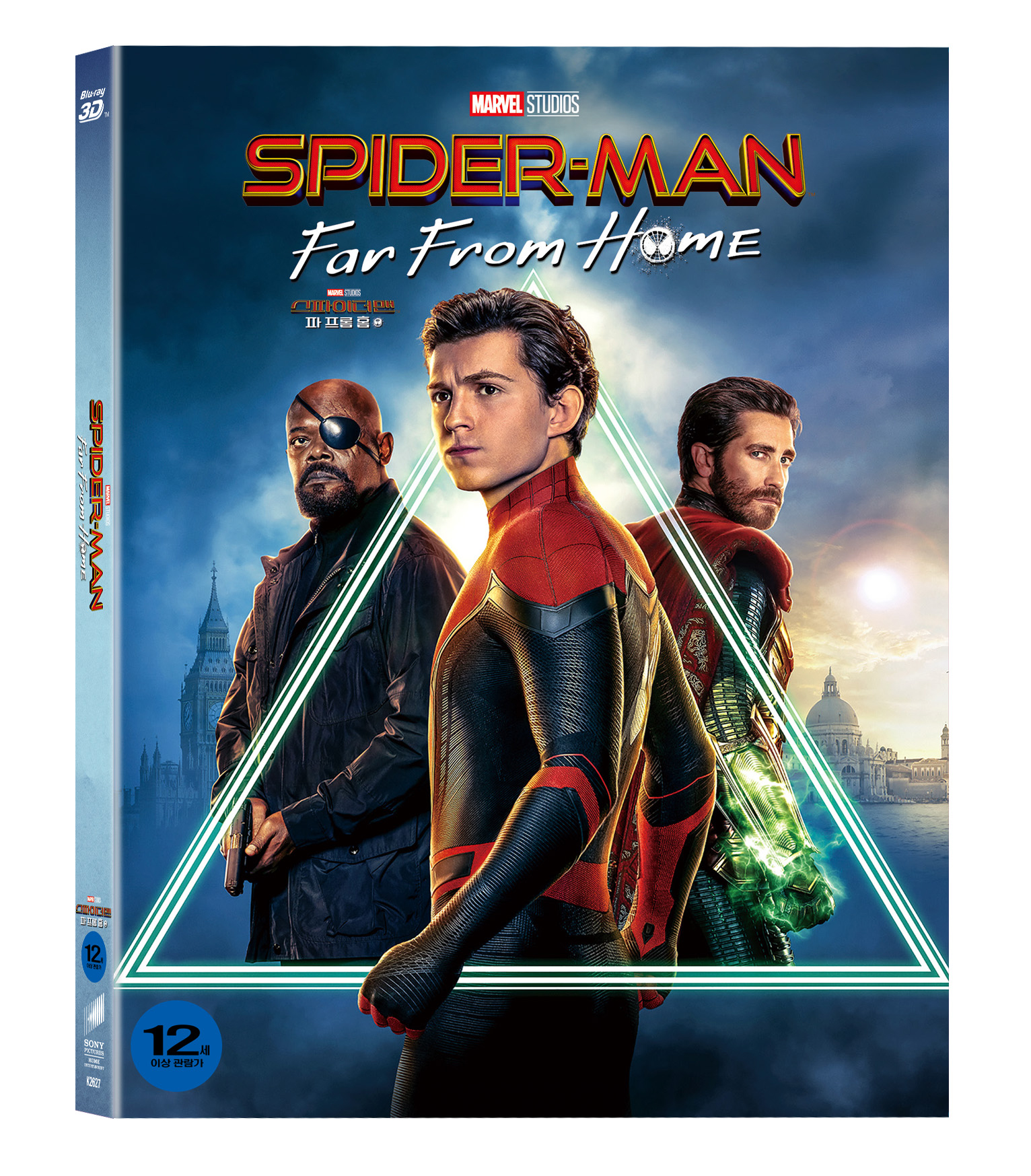 [Blu-ray] Spider-Man: Far From Home Slipcase(3disc: 3D + 2D + Bonus Disc) Limited Editon