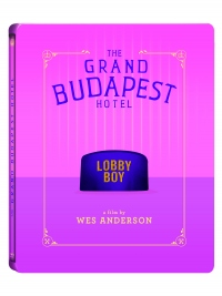 [Blu-ray] The Grand Budapest Hotel Steelbook Limited Edition