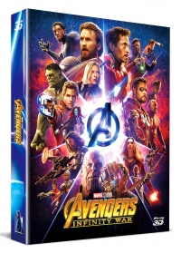 [Blu-ray] Avengers: Infinity War Fullslip A2(2Disc: 3D+2D) Steelbook LE(Weetcollcection Exclusive No.4)