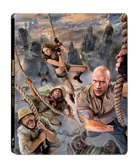 [Blu-ray] Jumanji: The Next Level BD(1Disc) Steelbook LE