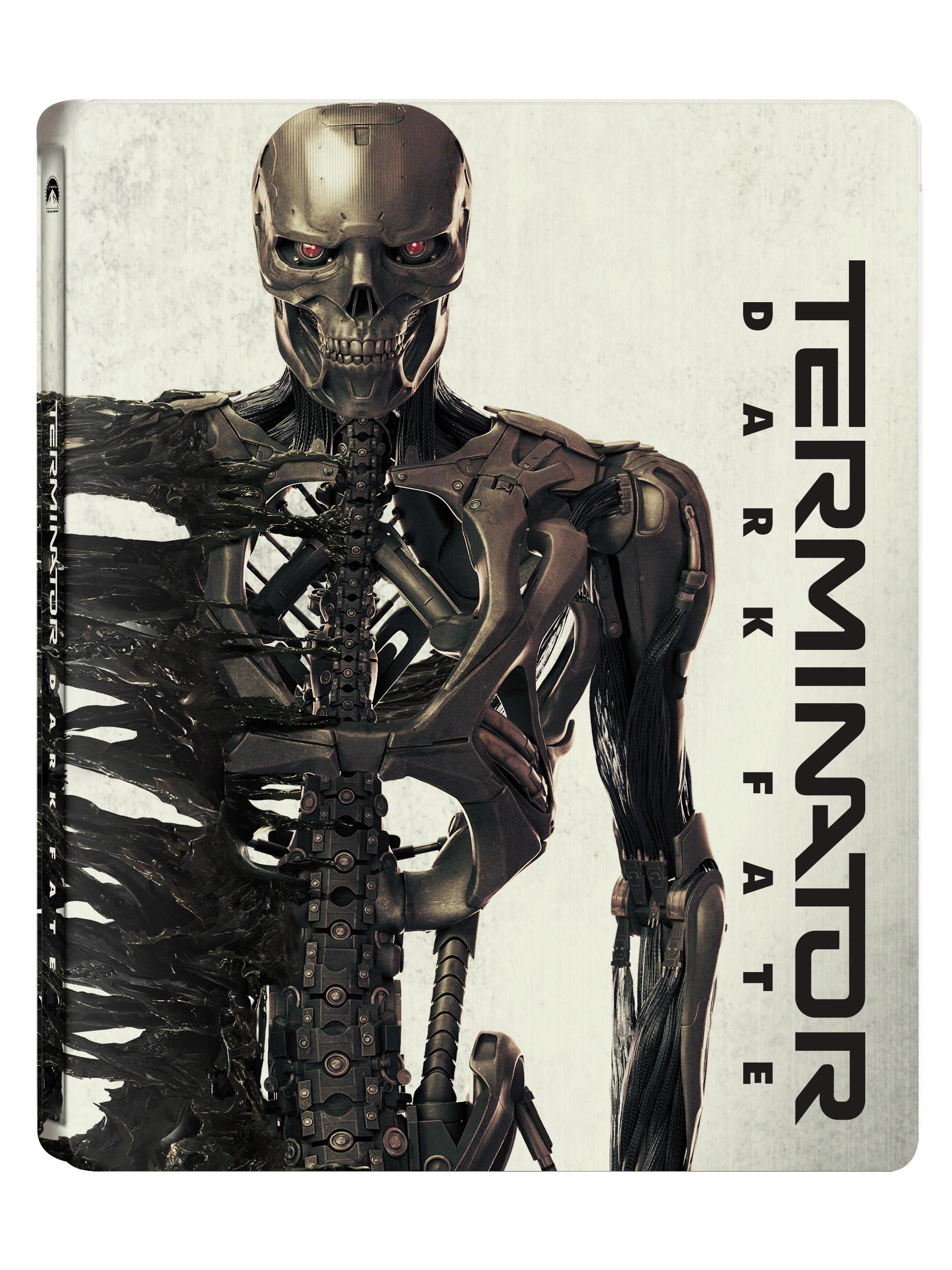 [Blu-ray] Terminator: Dark Fate 4K(2disc: 4K UHD+2D) Steelbook LE
