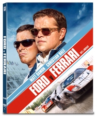 [Blu-ray]  Ford v Ferrari Fullslip 4K(2disc: 4K UHD+2D) Steelbook LE(Weetcollcection Collection No.19)
