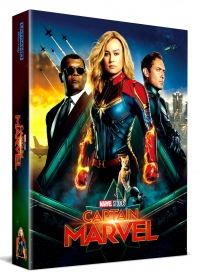 [Blu-ray] Captain Marvel Fullslip A2(2Disc: 4K UHD+2D) Steelbook LE(Weetcollcection Exclusive No.5)