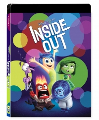 [Blu-ray] Inside Out Lenticular(Oring Case) (2disc: 3D+2D) Steelbook LE