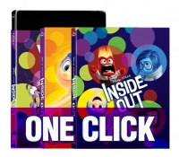 [Blu-ray] Inside Out One Click (3D+2D) Steelbook LE
