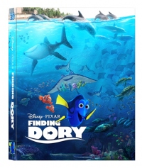 [Blu-ray] Finding Dory Lenticular(Oring Case) (3disc: 3D+2D+Bonus BD) Steelbook LE