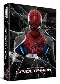 [Blu-ray] The Amazing Spider-Man Lenticular Fullslip(3disc: 4K UHD+BD(2D/3D Double Side)+Bonus Disc) Steelbook LE(Weetcollcection Exclusive No.6)