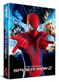 [Blu-ray] The Amazing Spider-Man2 Lenticular Fullslip(3disc: 4K UHD+3D+BD)Steelbook LE(Weetcollcection Exclusive No.7)
