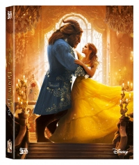 [Blu-ray] Beauty and the Beast Fullslip(2Disc: 3D+BD) Steelbook LE(None Petslip)