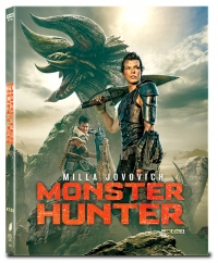 [Blu-ray] Monster Hunter Fullslip 4K(2disc: 4K UHD+2D) Steelbook LE(Weetcollection Collection 22)