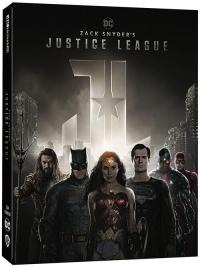 [Blu-ray] Zack Snyder's Justice League Steelbook LE(4Disc: 4K UHD + BD)